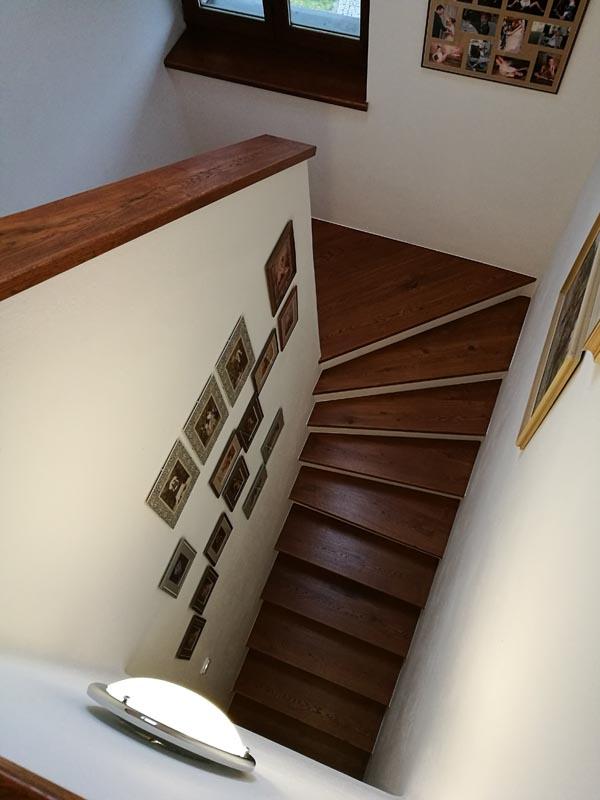 Dubové schodiště 2