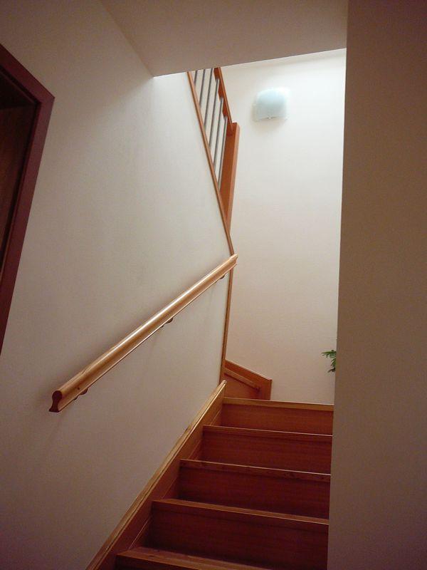 Modřínové schodiště